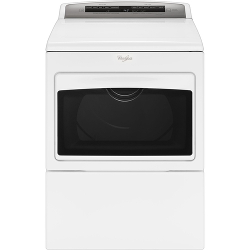 Whirlpool - 7.4 Cu. Ft. 26-Cycle Electric Dryer - White