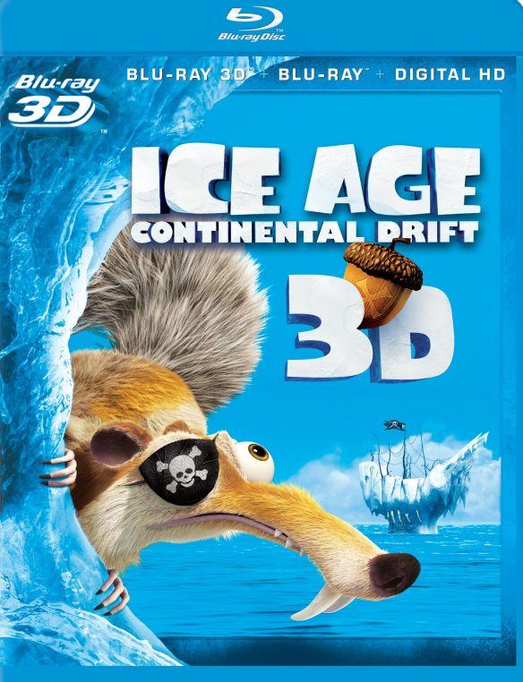 Ice Age: Continental Drift [3D] [Blu-ray] [Blu-ray/Blu-ray 3D] [2012] 6127300