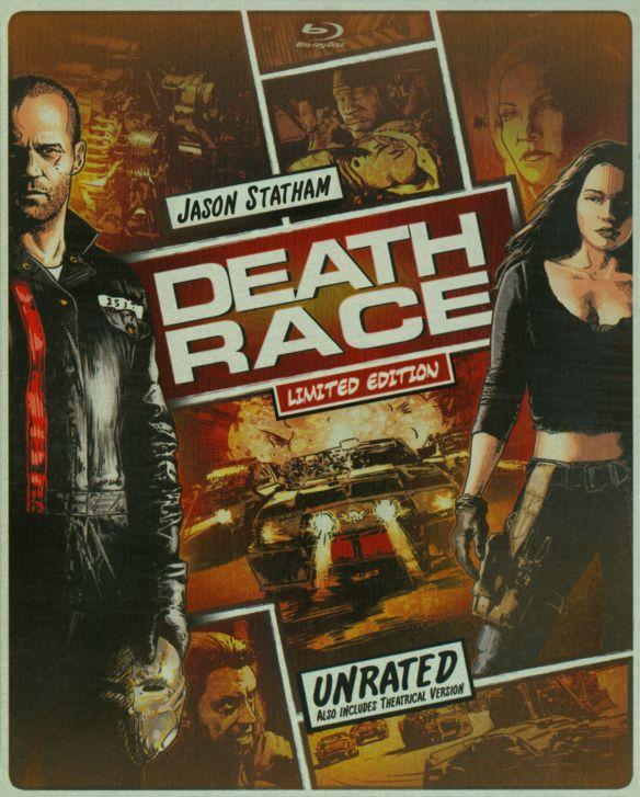 Death Race [Includes Digital Copy] [UltraViolet] [Blu-ray/DVD] [2 Discs] [2008] 6128201
