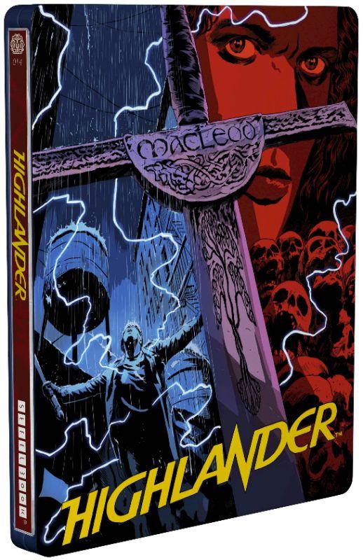 Highlander [SteelBook] [Blu-ray] [1986] 6128202