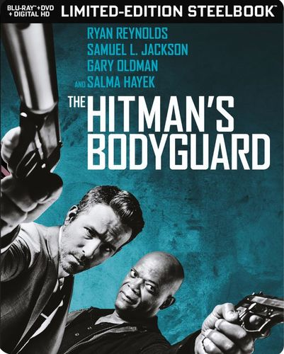 The Hitman's Bodyguard [SteelBook] [Includes Digital Copy] [Blu-ray/DVD] [Only @ Best Buy] [2017] 6128210