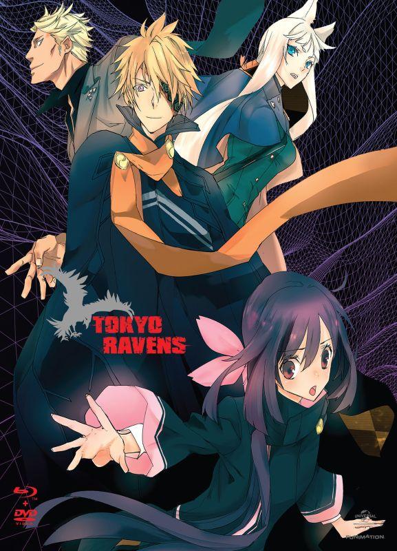 Tokyo Ravens: Season 1 - Part 2 [4 Discs] [Blu-ray/DVD] 6130236