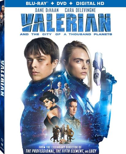 Valerian and the City of a Thousand Planets [Blu-ray] [2 Discs] [2017] 6130307