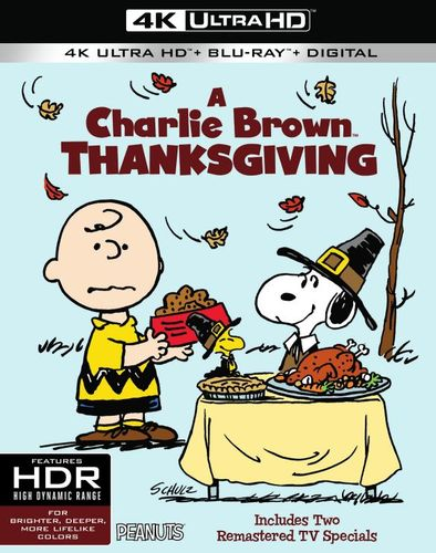 A Charlie Brown Thanksgiving [Includes Digital Copy] [UltraViolet] [4K Ultra HD Blu-ray] [2 Discs] [1973] 6131105