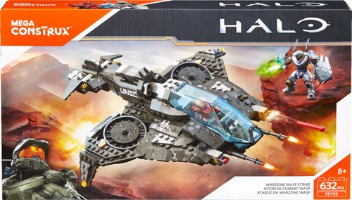 Mega Construx - Halo Warzone Wasp Strike Building Set 6132359
