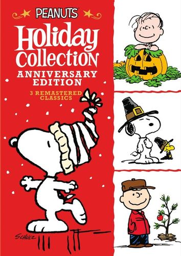 Peanuts Holiday Collection [Anniversary Edition] [3 Discs] [DVD] 6132374
