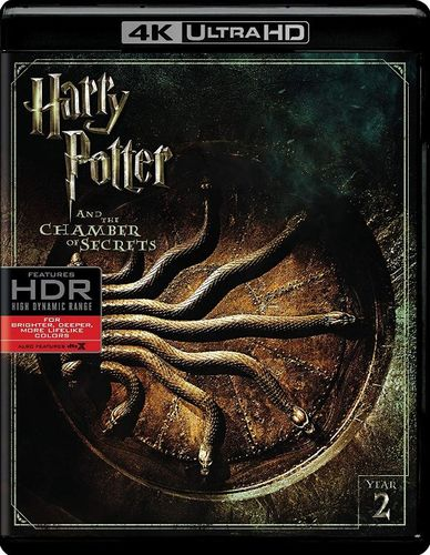 Harry Potter and the Chamber of Secrets [4K Ultra HD Blu-ray] [2002] 6132380