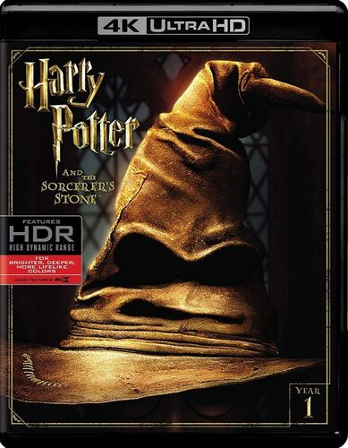 Harry Potter and the Sorcerer's Stone [4K Ultra HD Blu-ray] [2001] 6132383