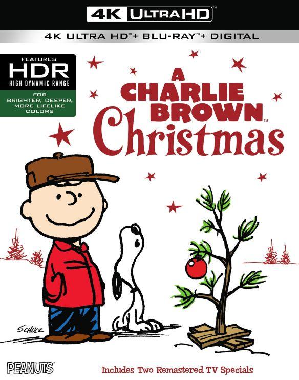 A Charlie Brown Christmas [Includes Digital Copy] [UltraViolet] [4K Ultra HD Blu-ray] [2 Discs] [1965] 6132385