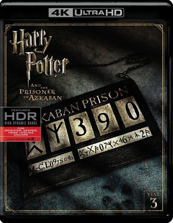 Harry Potter and the Prisoner of Azkaban [4K Ultra HD Blu-ray] [2004] 6132386