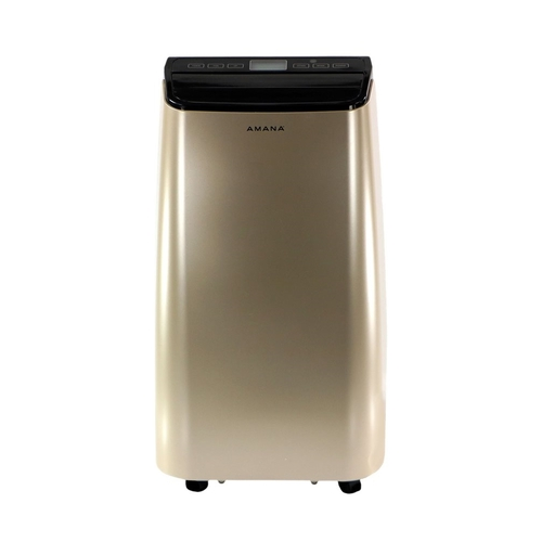 Amana - 450 Sq. Ft. Portable Air Conditioner - Black/Gold