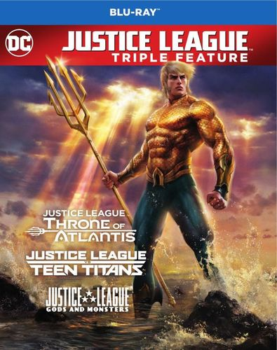 Justice League vs. Teen Titans/Gods and Monsters/Throne of Atlantis [Blu-ray] 6133100