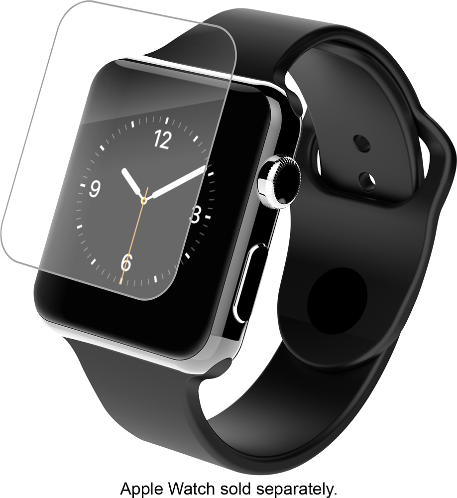 ZAGG - HD Clear Shield Screen Protector for Apple Watch™ 38mm - Clear
