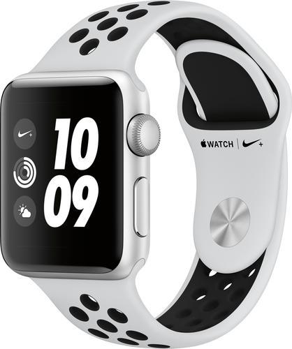 Refurbished Apple Watch Nike+ Series 3 (GPS), 38mm Silver ...