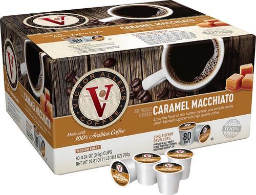 Victor Allen's - Caramel Macchiato Coffee Pods (80-Pack)