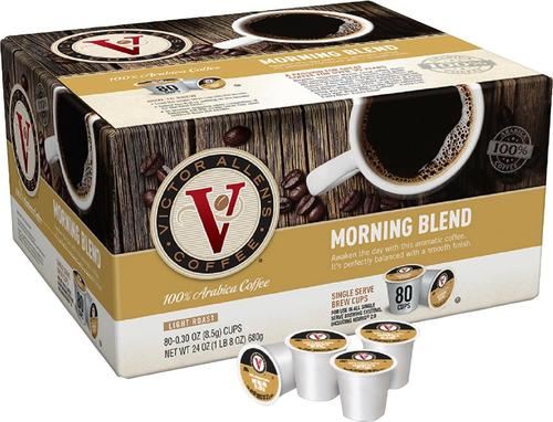 Victor Allen's - Morning Blend Coffee Pods (80-Pack)