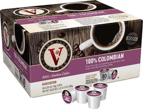 Victor Allen's - Colombian Coffee Pods (80-Pack)