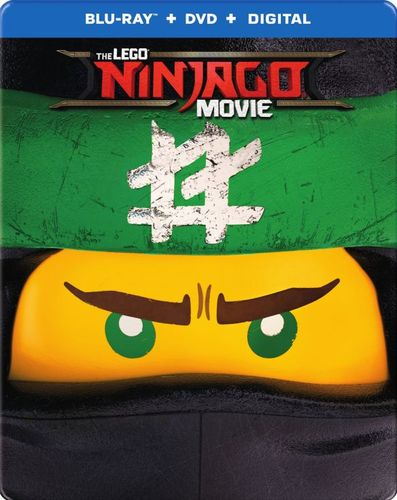 The LEGO NINJAGO Movie [SteelBook] [Includes Digital Copy] [Blu-ray/DVD] [Only @ Best Buy] [2017] 6135408