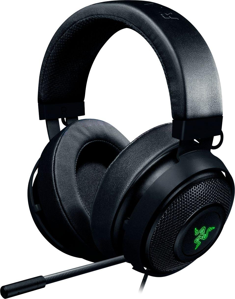 Razer Kraken 7.1 V2 Wired Surround Sound Gaming Headset for PC, Mac, PS4 Black RZ04-02060200-R3U1