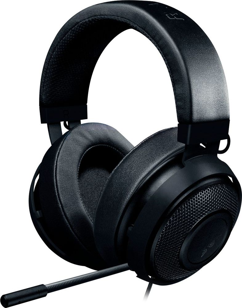 Razer Kraken Pro V2 Wired Stereo Gaming Headset for PC, Mac, Xbox One, PS4, Mobile Devices Black RZ04-02050400-R3U1