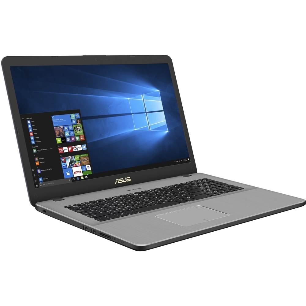 "Asus N705UDEH76 17.3"" Laptop Intel Core i7 16GB Memory NVIDIA GeForce GTX 1050 1TB Hard Drive + 256GB Solid State Star gray"