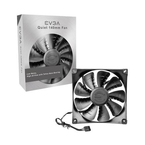 EVGA - 140mm Case Cooling Fan - Black 6137310