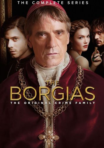 The Borgias: The Complete Series [9 Discs] [DVD] 6137424