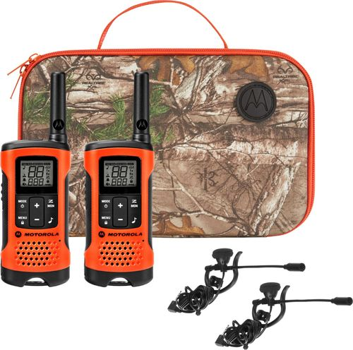 Motorola T265 Rechargeable Emergency Preparedness 2-Way Radio - Orange