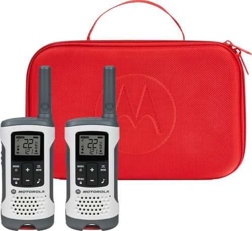 Motorola T280 Rechargeable Emergency Preparedness 2-Way Radio - White