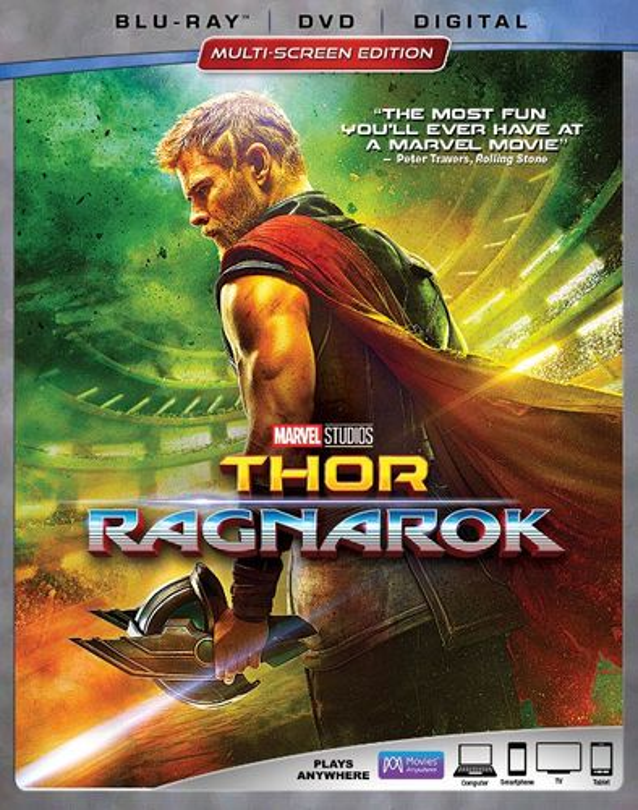 Thor: Ragnarok [Includes Digital Copy] [Blu-ray/DVD] [2017] 6139457