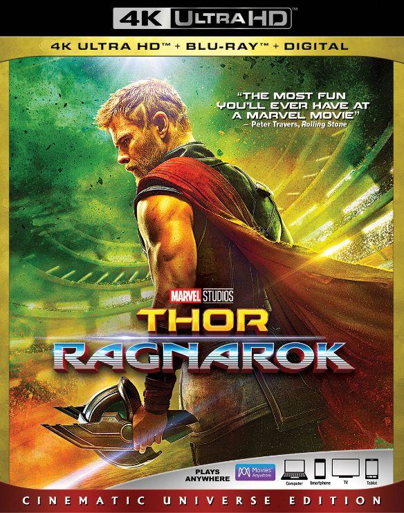 Thor: Ragnarok [Includes Digital Copy] [4K Ultra HD Blu-ray/Blu-ray] [2017] 6139459