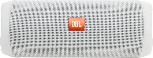 JBL Flip 4 Waterproof Bluetooth Speaker - White