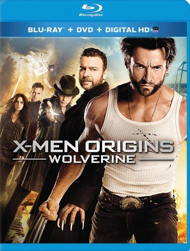 X-Men Origins: Wolverine [2 Discs] [Includes Digital Copy] [UltraViolet] [Blu-ray/DVD] [2009] 6141153