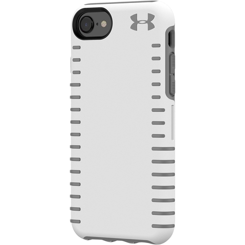 Under Armour - UA Protect Grip Case for Apple® iPhone® 6, 6s, 7 and 8 - White/Graphite 6143303