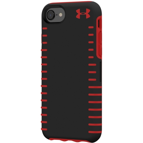 Under Armour - UA Protect Grip Case for Apple® iPhone® 6, 6s, 7 and 8 - Black/Red 6143335