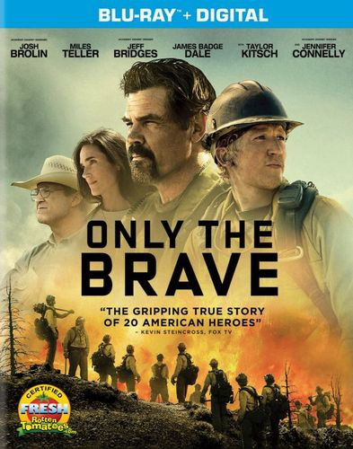 Only the Brave [Includes Digital Copy] [Blu-ray] [2017] 6144919
