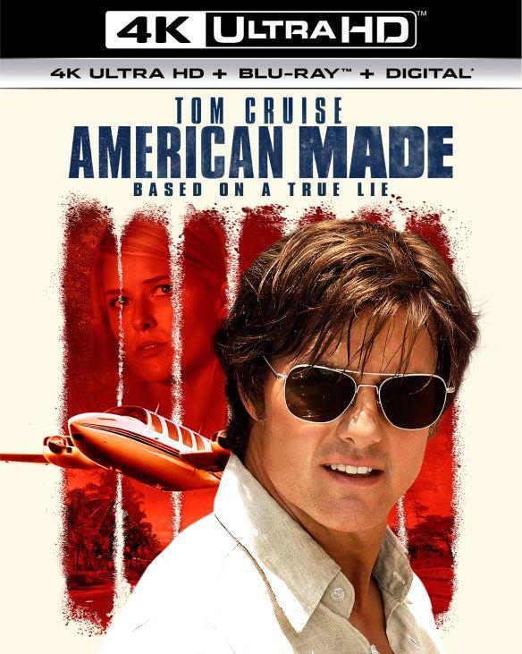 American Made [Includes Digital Copy] [4K Ultra HD Blu-ray/Blu-ray] [2017] 6145018