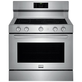 Frigidaire Gallery 6.4 Cu. Ft. Self-Cleaning Freestanding Electric Convection Range Stainless Steel FGEF4085TS
