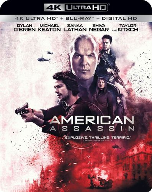 American Assassin [4K Ultra HD Blu-ray/Blu-ray] [2017] 6146110