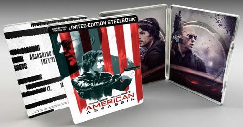 American Assassin [SteelBook] [Blu-ray/DVD] [Only @ Best Buy] [2017] 6146115