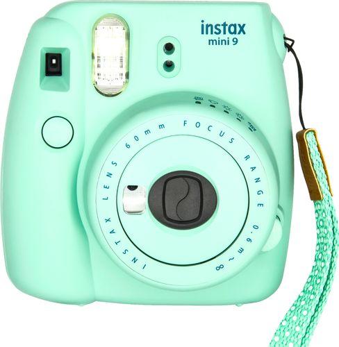 Fujifilm - instax mini 9 Instant Film Camera - Mint Green