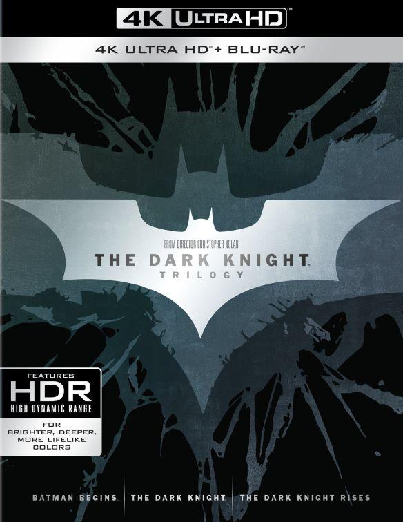 The Dark Knight Trilogy [4K Ultra HD Blu-ray] 6148702