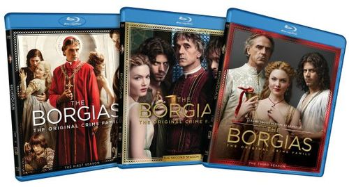 The Borgias: The Complete Series [9 Discs] [Blu-ray] 6149103