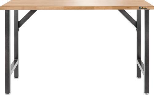 gladiator gawb66hwgg 66-1/2u0022 wide hardwood workbench, 66.5-in wide, hammered granite