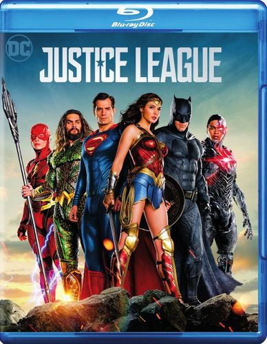 Justice League [Blu-ray/DVD] [2017] 6152900