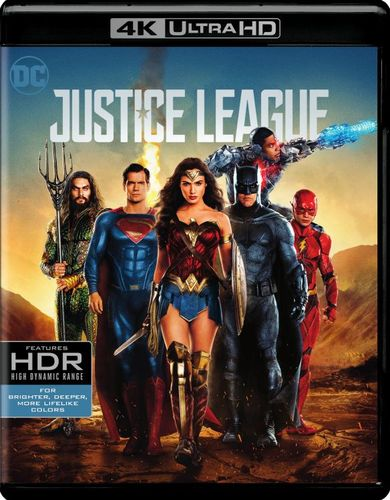 Justice League [4K Ultra HD Blu-ray/Blu-ray] [2017] 6152901