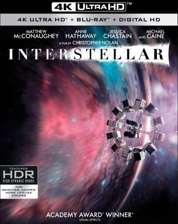Interstellar [4K Ultra HD Blu-ray] [3 Discs] [2014] 6155534