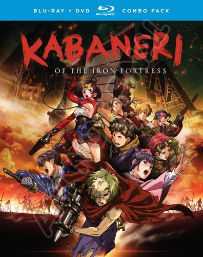 Kabaneri of the Iron Fortress: The Complete Series [Blu-ray/DVD] 6157803