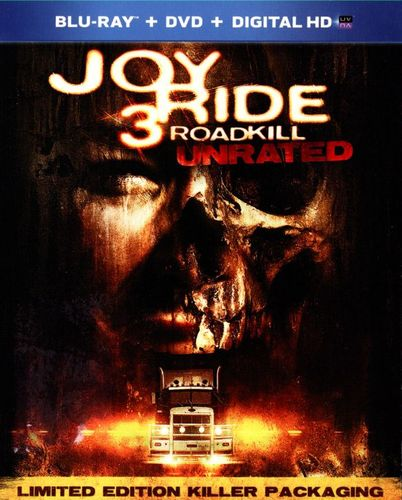 Joy Ride 3: Roadkill [2 Discs] [Unrated] [Blu-ray/DVD] [2014] 6158012