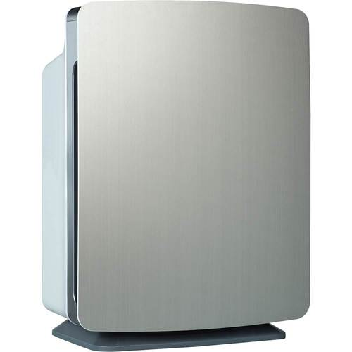 Alen - BreatheSmart FIT50 HEPA-Silver Air Purifier - Brushed Stainless 6158731